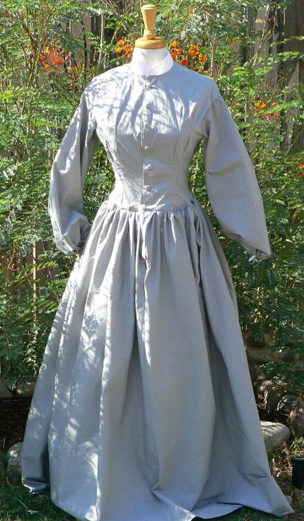 Civil War era. The clothing on these pages was created by Robin Stokes. She is the first place winner of multiple N-SSA clothing competitions including