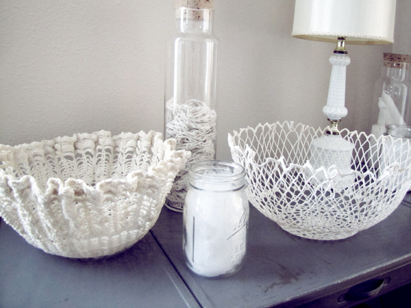 DIY: Doily Bowl
