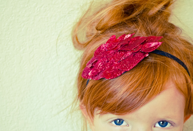 DIY:  Sparkle Headband