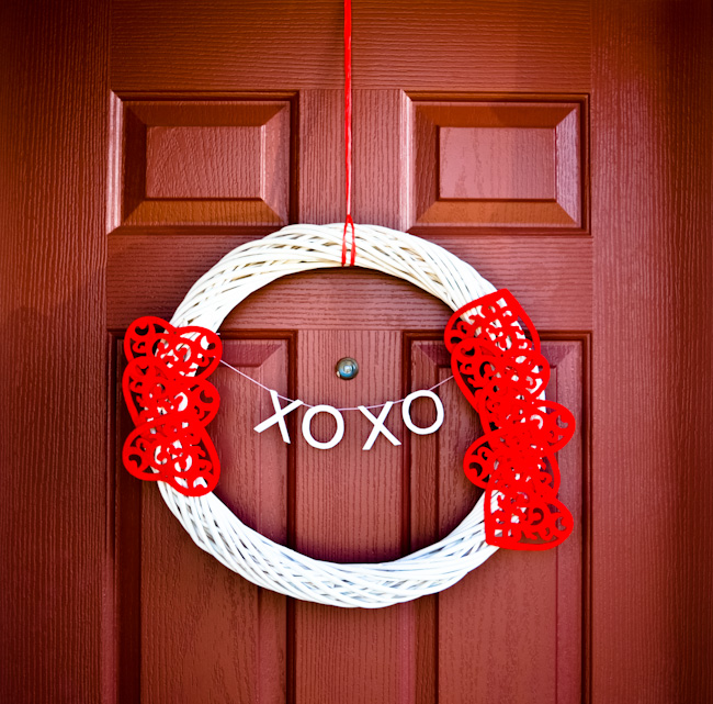 DIY:  Valentine's Day Wreath