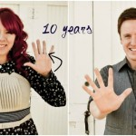 10 year anniversary photos married love romance couple husband and wife