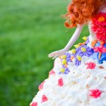 birthday brave barbie cake