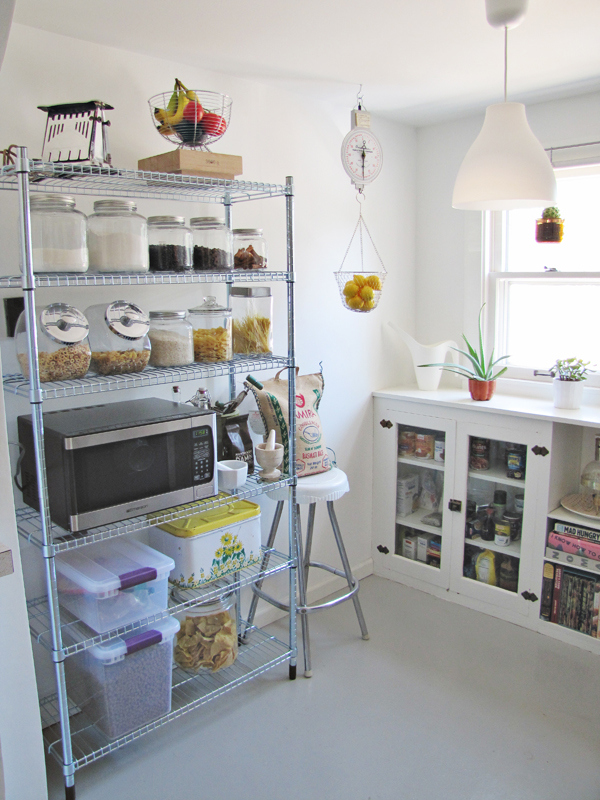 ... I Urban Vine Iron And Pine Shelving Kitchen Pantry Ideas Of Industrial  Metal ...