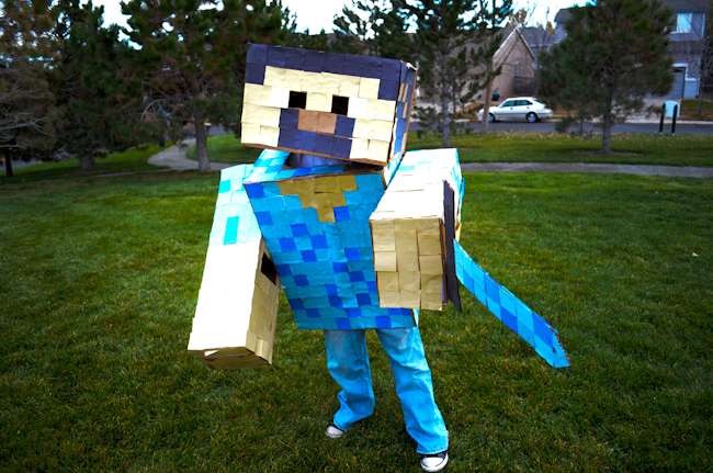 These costumes ... & MayDae | Minecraft u0026 Brave Halloween Costumes