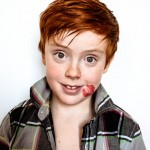 cute kids photos unique portraits vibrant color high contrast redhead freckles girl boy