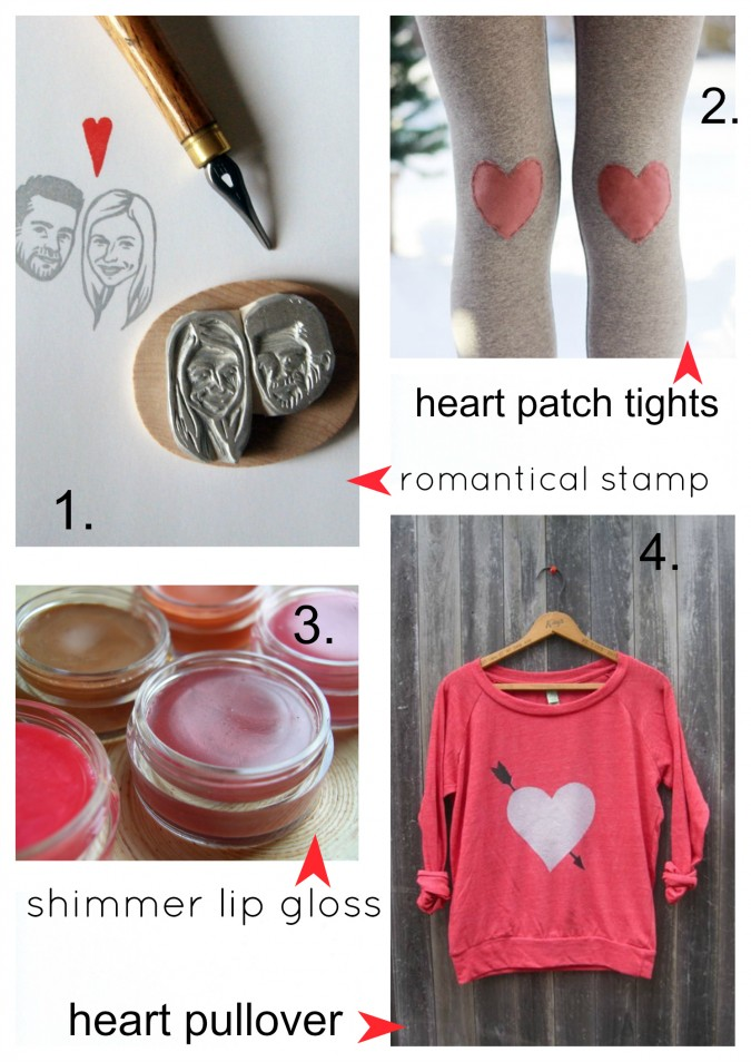 Etsy Picks:  Valentine's Day Prettie