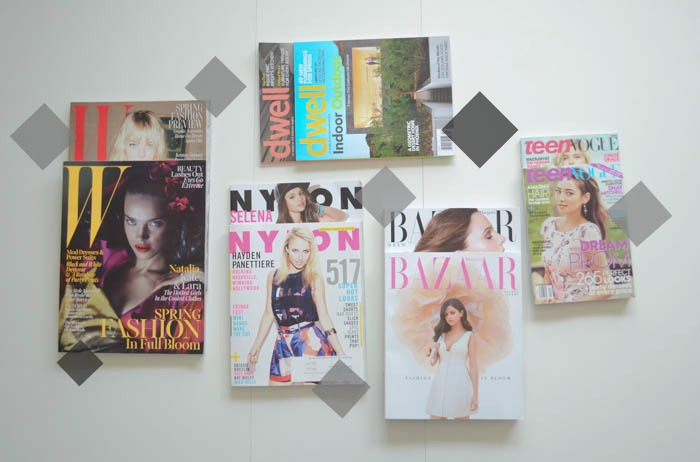 favorite magazine subscriptions maydae nylon w dwell bazaar teen vogue april 2013