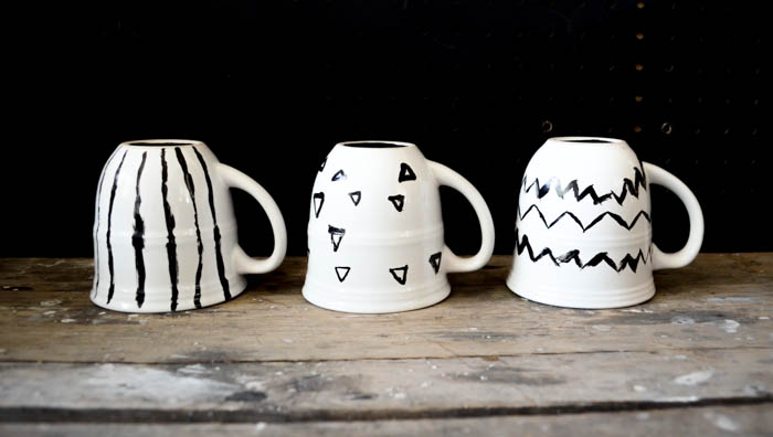 DIY:  Hand Painted Coffee Mugs