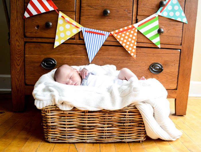 Baby Quinn Newborn Photos photography bunting color basket blanket close up feet lips hands bow tie sibling sister brother