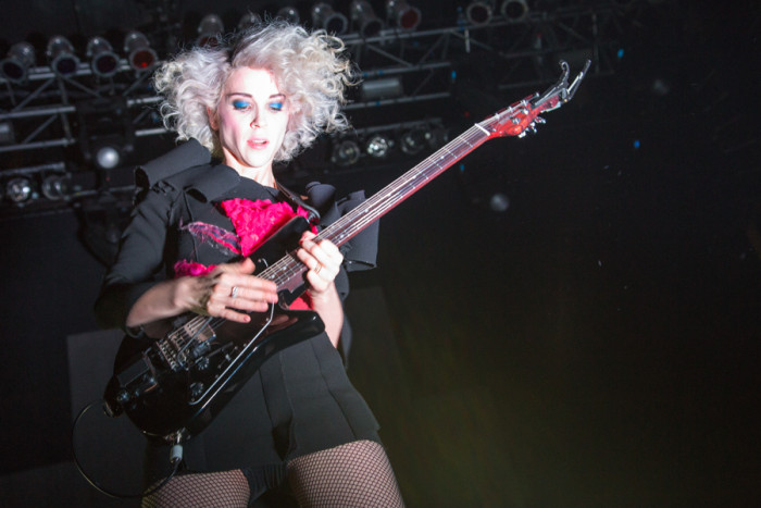 St Vincent Music band guitarist Annie Clark New album self titled 2014 listening stephanie may