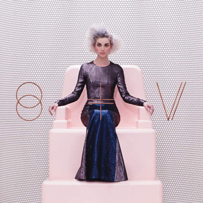 St Vincent Music band guitarist Annie Clark New album self titled 2014 listening stephanie may album cover