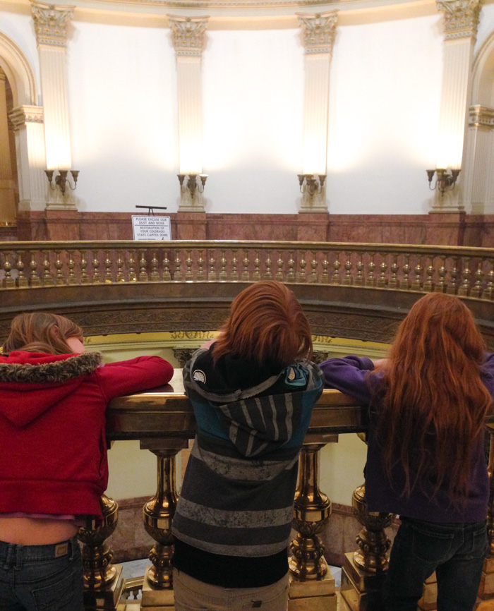 spring break 2014 colorado state capitol tour denver