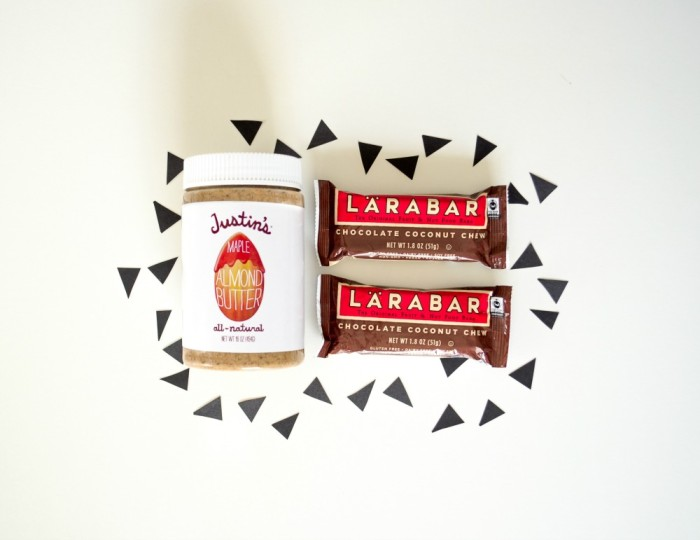 Justin's and Larabar Giveaway on Instagram